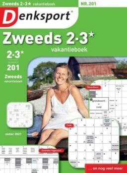 Denksport Zweeds 2-3 vakantieboek – 24 juni 2021