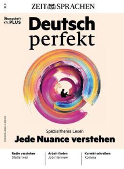 Deutsch perfekt plus – August 2021