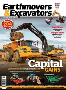 Earthmovers & Excavators – June 2021