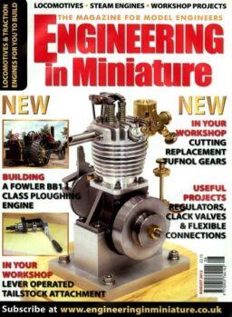 Engineering in Miniature – August 2012