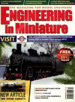 Engineering in Miniature – December 2011
