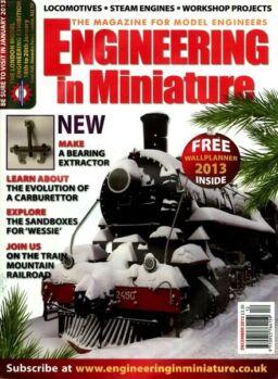 Engineering in Miniature – December 2012