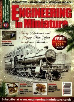 Engineering in Miniature – December 2013
