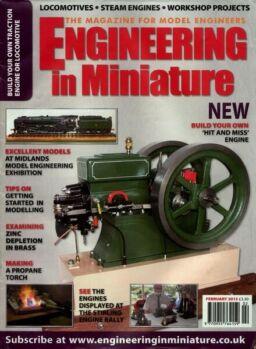 Engineering in Miniature – February 2013