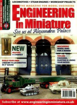 Engineering in Miniature – January 2013