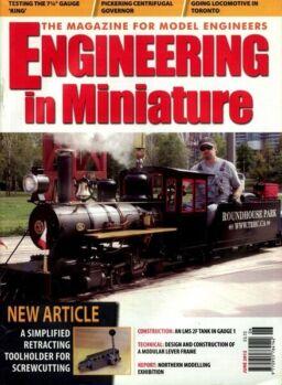 Engineering in Miniature – June 2012