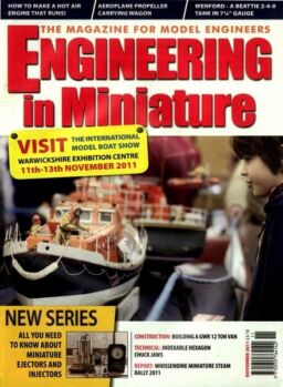 Engineering in Miniature – November 2011