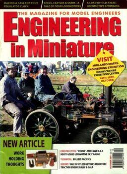 Engineering in Miniature – October 2011