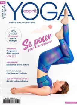 Esprit Yoga – Juillet-Aout 2021