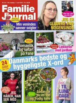 Familie Journal – 07 juni 2021