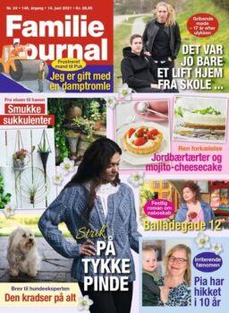 Familie Journal – 14 juni 2021