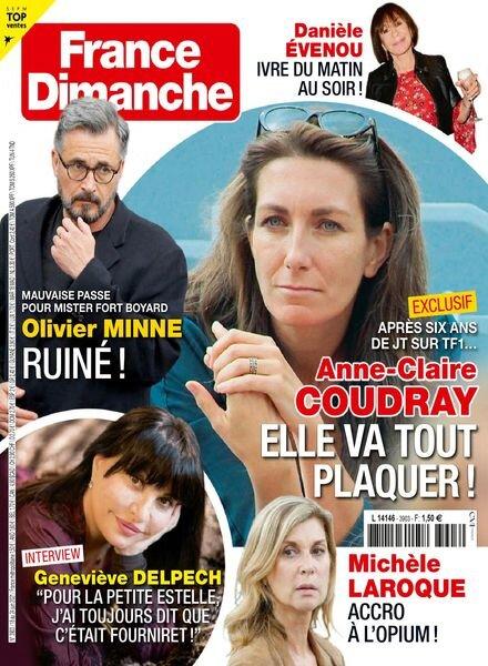 France Dimanche – 18 juin 2021 Cover
