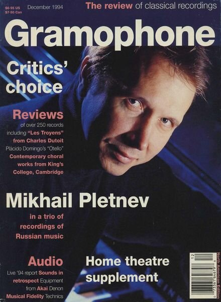 Gramophone – December 1994 Cover