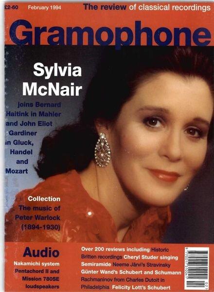 Gramophone – February 1994 Cover