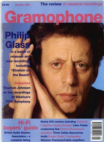 Gramophone – January 1994 Cover