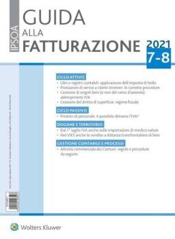 Guida alla Fatturazione – Luglio-Agosto 2021
