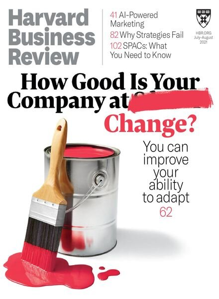 Harvard Business Review USA – July-August 2021 Cover