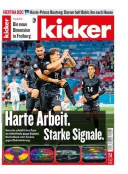 Kicker – 24 Juni 2021
