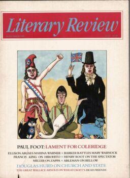 Literary Review – November 1989