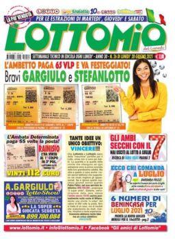 Lottomio del Lunedi – 28 Giugno 2021