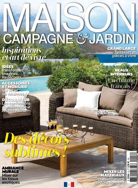 Maison Campagne & Jardin – Juillet-Septembre 2021 Cover