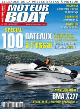 Moteur Boat – juillet 2021