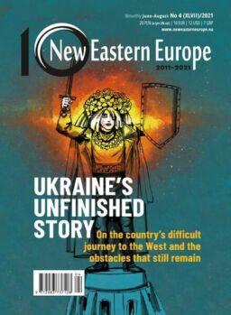 New Eastern Europe – June-August 2021