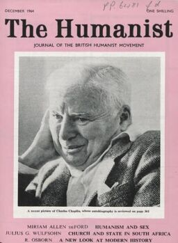 New Humanist – The Humanist, December 1964