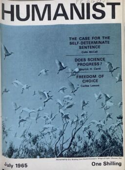 New Humanist – The Humanist, July 1965