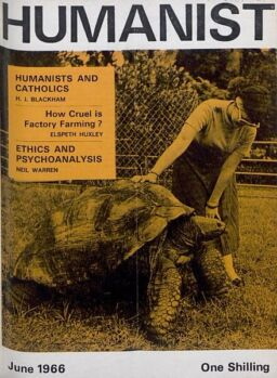 New Humanist – The Humanist, June 1966