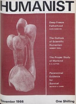 New Humanist – The Humanist, November 1966
