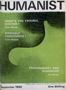 New Humanist – The Humanist, September 1965