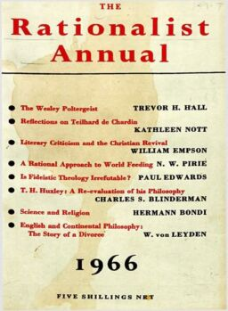 New Humanist – The Rationalist Annual, 1966