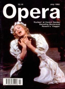 Opera – July 1992