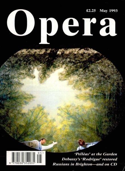 Opera – May 1993 Cover