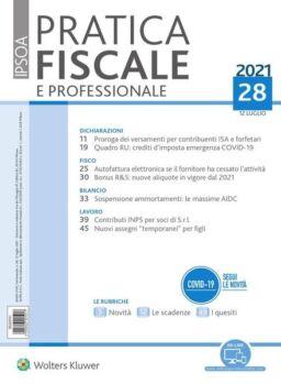 Pratica Fiscale e Professionale – 12 Luglio 2021