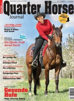 Quarter Horse Journal – 25 Juni 2021