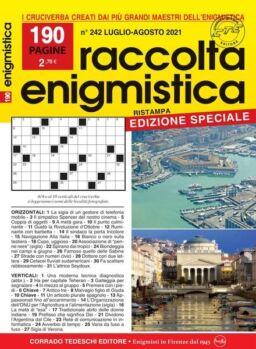 Raccolta Enigmistica – luglio 2021