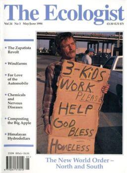 Resurgence & Ecologist – Vol 24 N 3 – May – June 1994