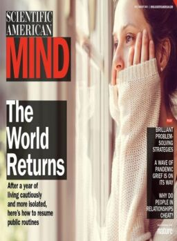 Scientific American Mind – July – August 2021 Tablet Edition