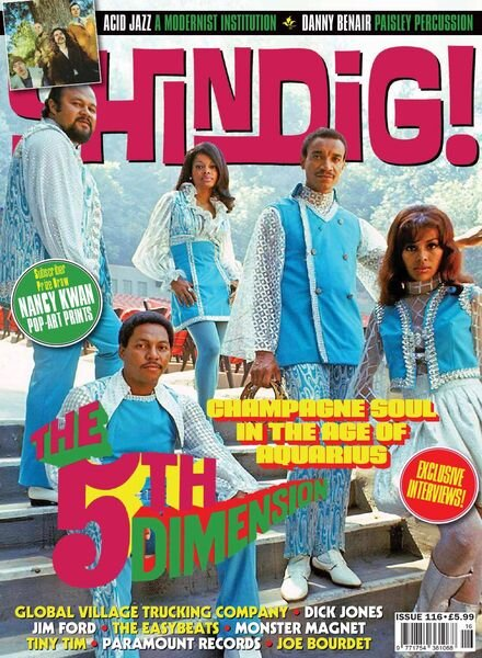 Shindig! – Issue 116 – June 2021 Cover