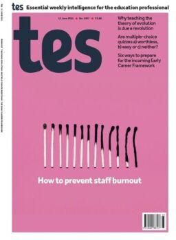 TES Magazine – Issue 5457 – 11 June 2021
