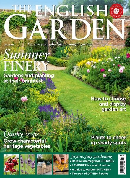 The English Garden – July 2021 Cover