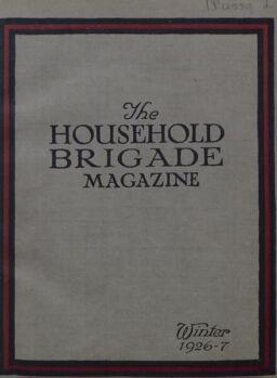 The Guards Magazine – Winter 1926-7