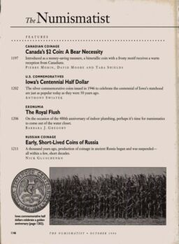 The Numismatist – October 1996