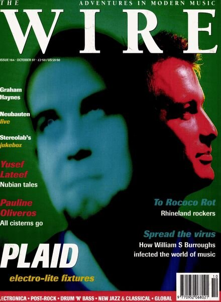 The Wire – October 1997 Issue 164 Cover