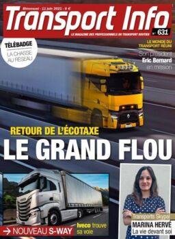 Transport Info – 11 Juin 2021