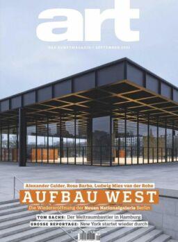 Art Magazin – September 2021