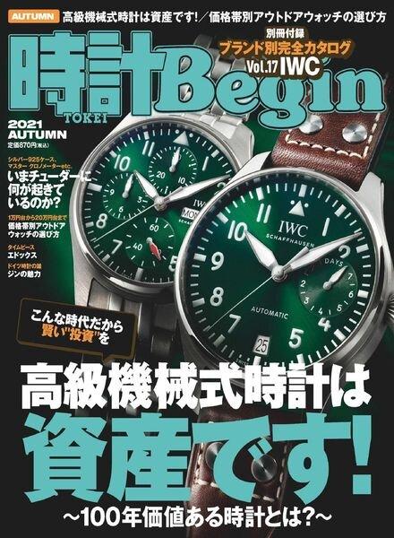 Begin – 2021-09-01 Cover