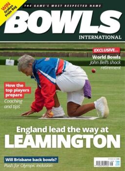 Bowls International – September 2021